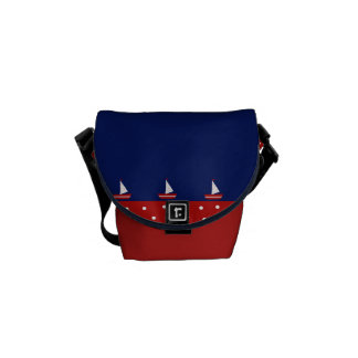 marine design courier bags