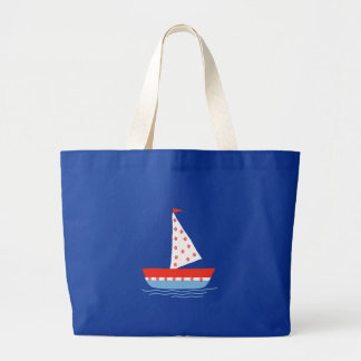 marine design jumbo tote bag