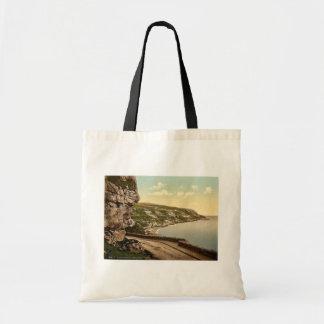 Marine Drive, Llandudno, Wales rare Photochrom Tote Bag