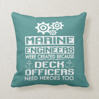 MARINE ENGINEERS CUSHION