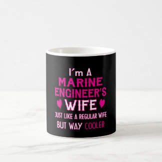 Marine Engineer's Wife Coffee Mug