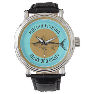 Marine fishing Relax and enjoy Watch