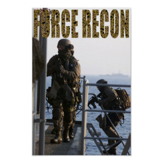 Marine Force Recon Posters