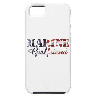 Marine Girlfriend American Flag Tough iPhone 5 Case