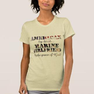 Marine Girlfriend Grace of God T-shirts