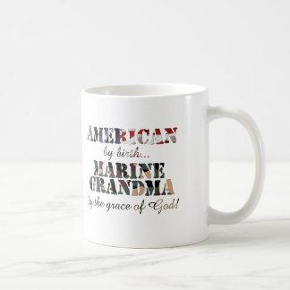 Marine Grandma Grace of God Mug