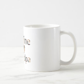 Marine Grandpa Heart Camo Coffee Mug