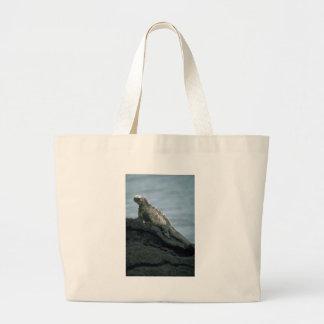 Marine Iguana Canvas Bags