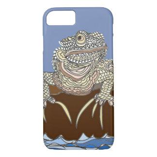 Marine Iguana on Rock with Hermit Crab iPhone 8/7 Case