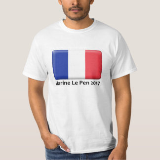Marine Le Pen 2017 apparel T-Shirt