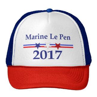 Marine Le Pen 2017 hat