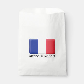 Marine Le Pen 2017 party bags Favour Bags