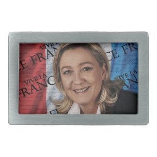 Marine Le Pen Rectangular Belt Buckle