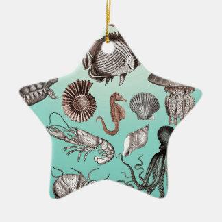 Marine Life Ceramic Ornament