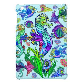 Marine Life Exotic Fishes & SeaHorses iPad Mini Cases