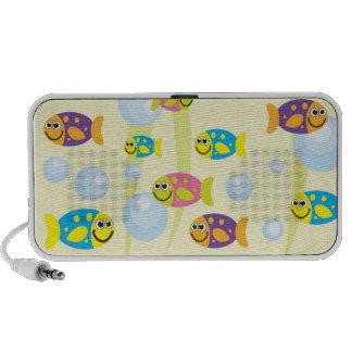 Marine Life Fish Portable Speaker