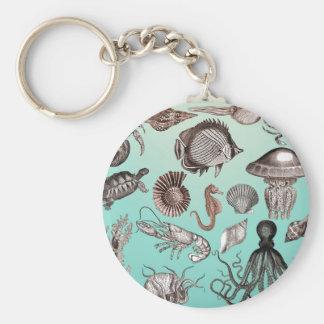 Marine Life Key Ring