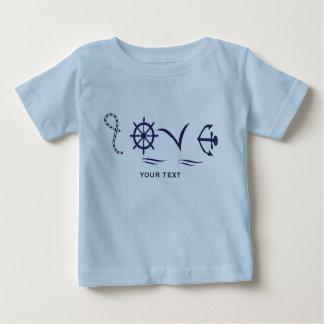 Marine love baby baby T-Shirt