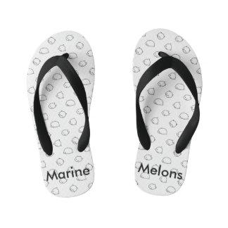 Marine Melons sandals Thongs