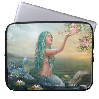 Marine Mermaid Laptop Sleeve