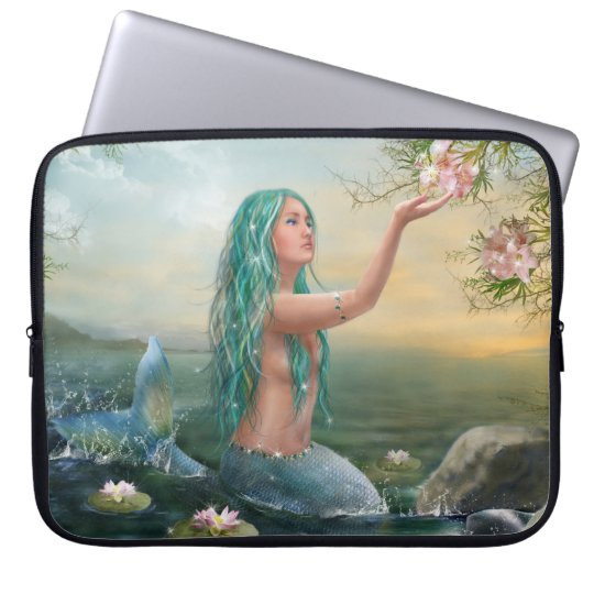 Marine Mermaid Laptop Sleeve