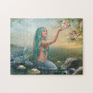 Marine Mermaid Puzzle