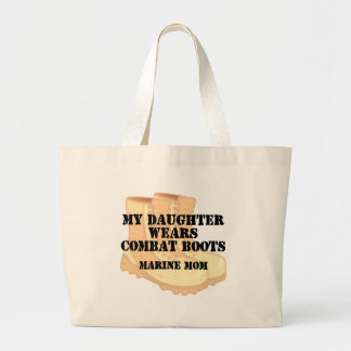 Marine Mom Daughter DCB Canvas Bag