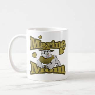 Marine Mom (Devil Dog) Coffee Mug