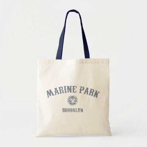 Marine Park Tote Bags