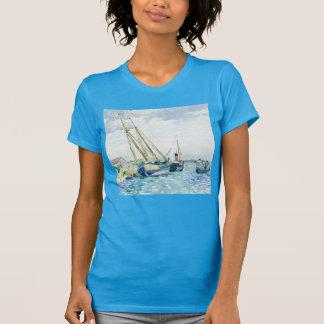 Marine Scene Boats near Venice T-Shirt