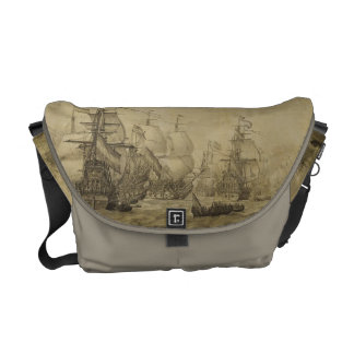 Marine scene courier bags