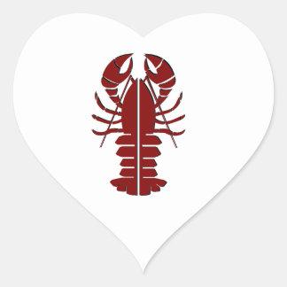 Marine Sensation Heart Sticker