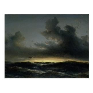 Marine Solitude, 1852 Postcard