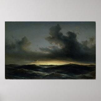 Marine Solitude, 1852 Print