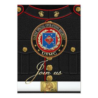 Marine Special Operations Regiment (MSOR) [3D] 5x7 Paper Invitation Card
