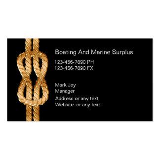Marine Supplies Business Cards
