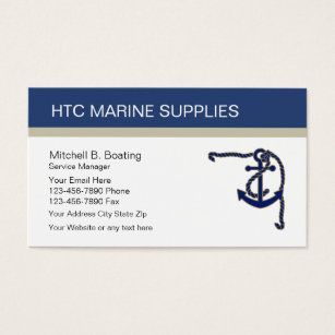 Marine business cards business card printing zazzle marine supply business cards colourmoves