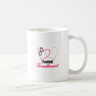 Marine Sweetheart Basic White Mug