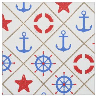 Marine walk . fabric