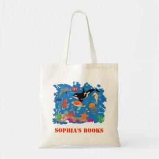 Marine World Canvas Bag