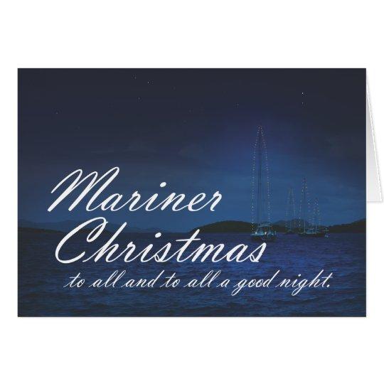 Mariner Christmas Card