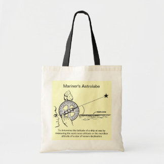 Mariner's Astrolabe Tote Bags