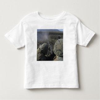 Marines fire an M2 50 caliber machine gun Toddler T-Shirt
