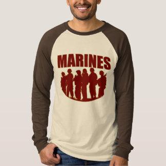 MARINES Long Sleeve Raglan Shirt