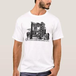 Marinoni Rotary printing Press T-Shirt