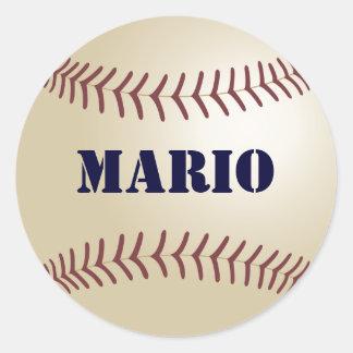 Mario Baseball Sticker / Seal
