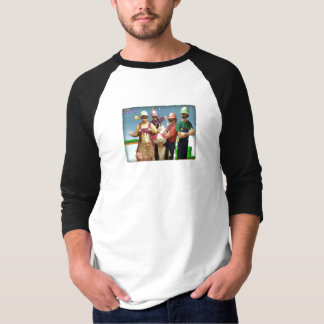 Mario Costumes with Mario Background T Shirts