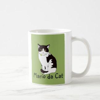 Mario da Cat Coffee Mug