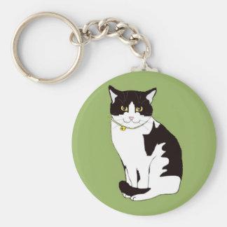 Mario da Cat Key Ring