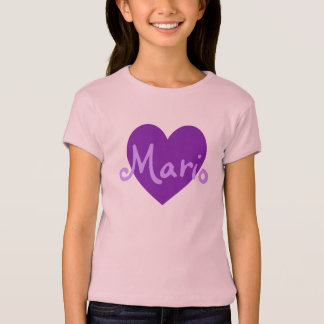 Mario in Purple T-Shirt
